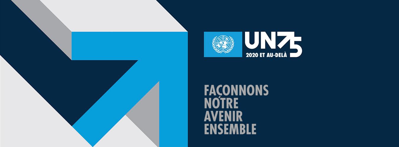 Participez à la conversation. Créez le changement. #UN75