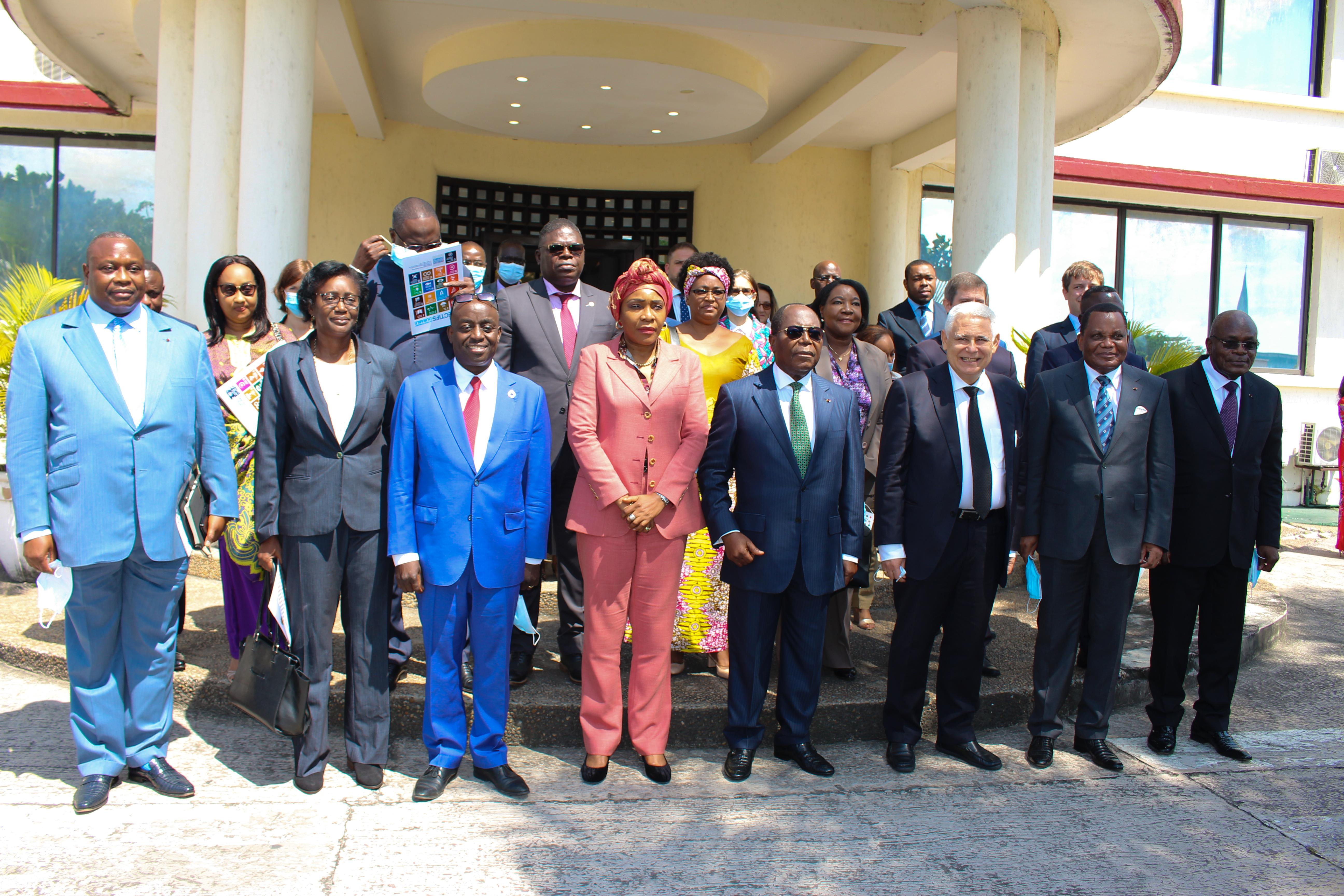 Lancement du Forum des partenaires au développement du Congo