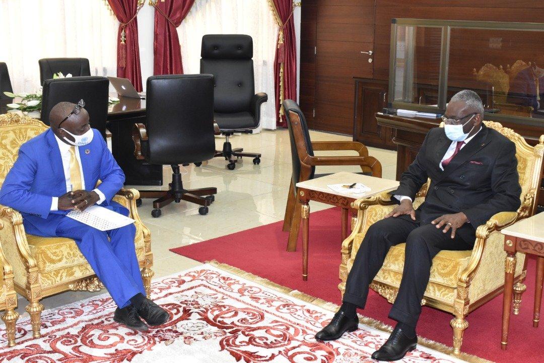 Le Premier Ministre reçoit le Coordonnateur Résident