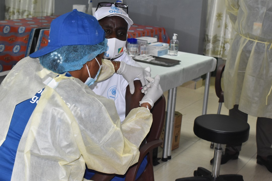 Campagne de vaccination COVID-19 du staff des Nations Unies