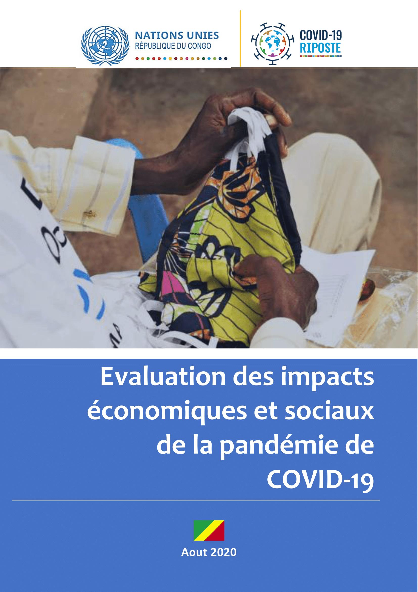 Evaluation des impacts socioéconomiques de la pandémie COVID-19