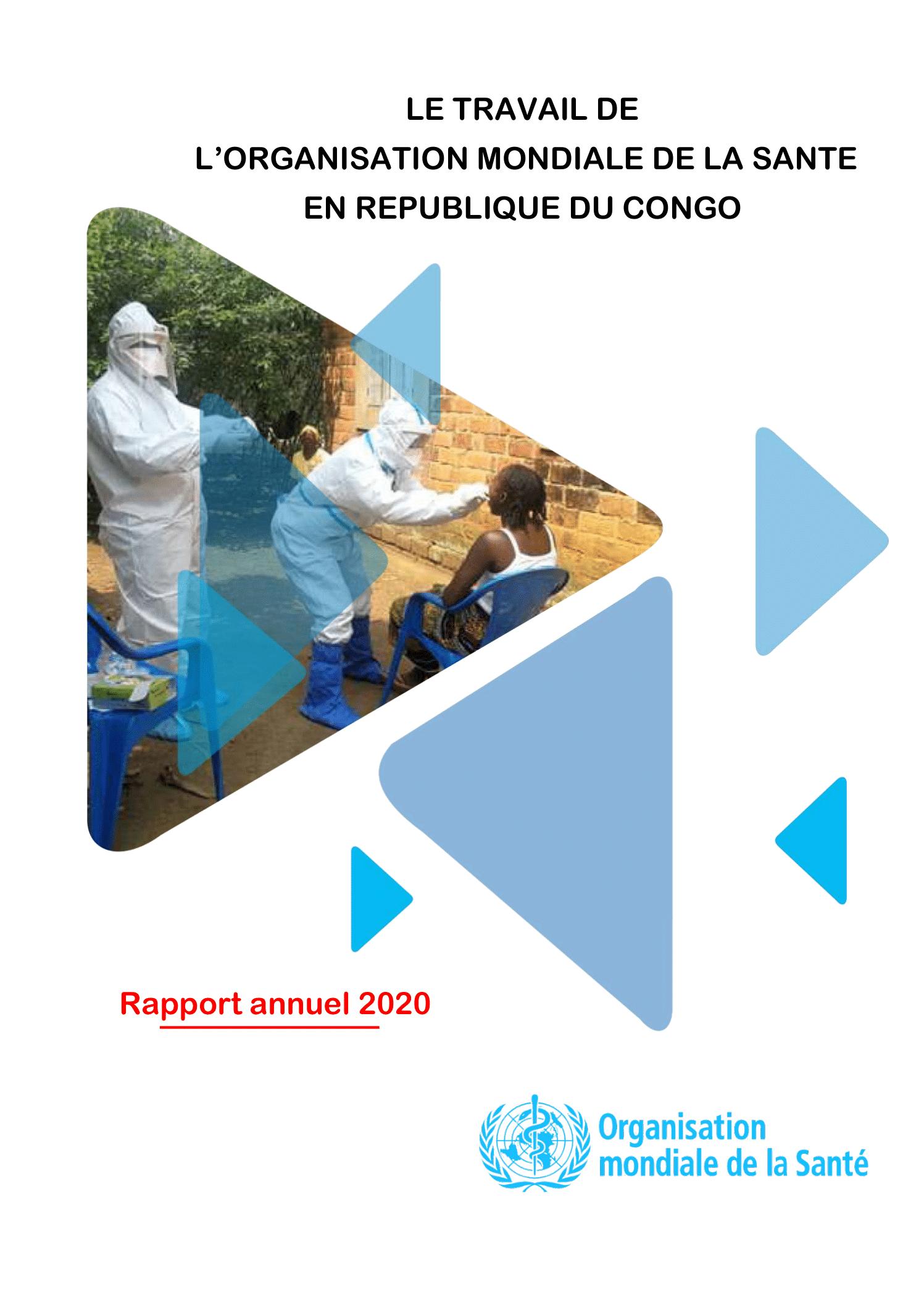 Le travail de l'OMS en République du Congo en 2020